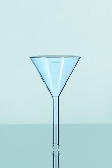 Entonnoir+en+verre+à+tige+courte_150mm